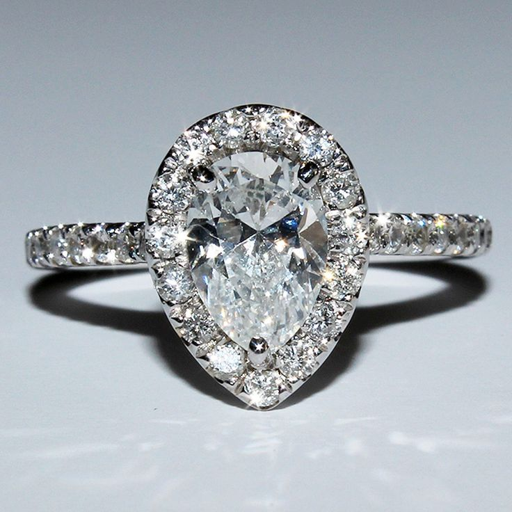 vintage engagement rings pear shaped 6 my wedding
