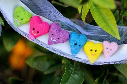 cute heart pins