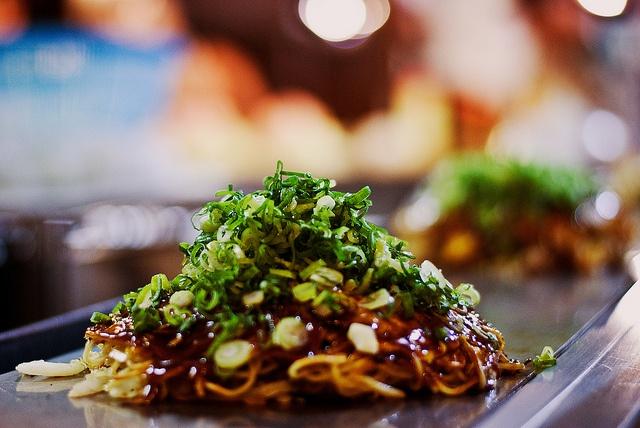 Hiroshima-Style Okonomiyaki | japanese loves | Pinterest