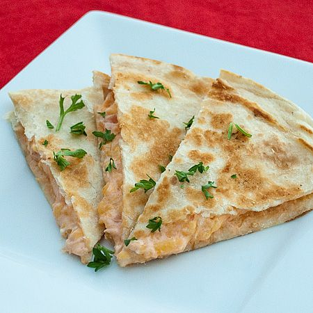 Quesadillas with cream cheese. Use pico, cheese, and cream cheese for ...