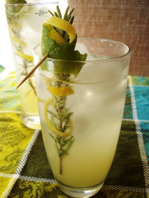 The Real Meal: Sparkling Rosemary Limeade