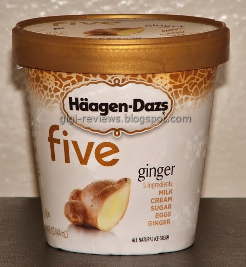 Ginger Ice Cream ..Unfortunately Discontinued by Haagen-Dazs