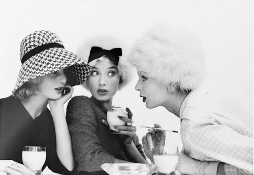Gossiping...    inspirationgallery:  By Norman Parkinson