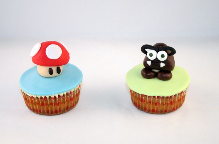 Super Mario Bross Cupcakes