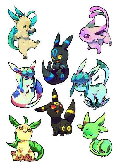 Shiny eeveelutionsShiny Flareon Pokemon X