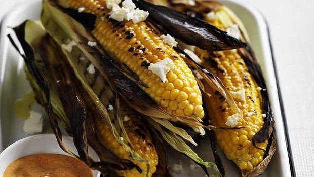 Corn On The Cob With Cheese And Lime Recipe — Dishmaps