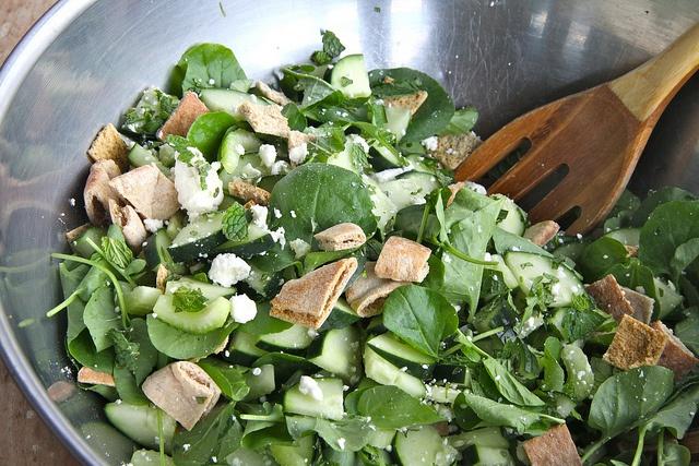Cucumber Salad With Mint And Feta Recipes — Dishmaps