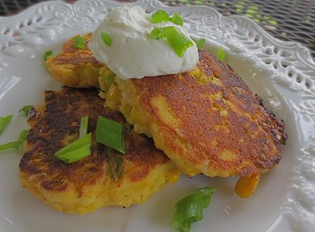 Corn Griddle Cakes. Photo by PaulaG