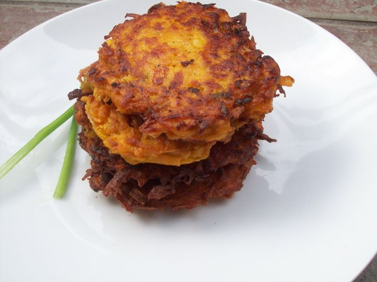 Sweet Potato Latkes | Recipe