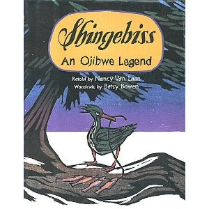 Shingebiss an ojibwe legend ojibwe way pinterest