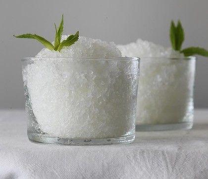 Lemon Mint Granita Recipe — Dishmaps
