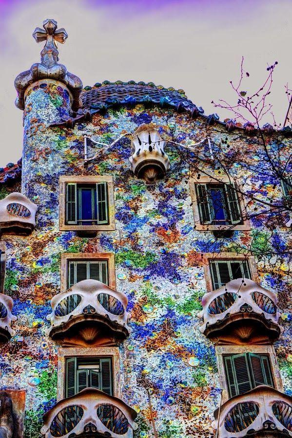 Casa Batlló Barcelona Spain  Spain  Pinterest