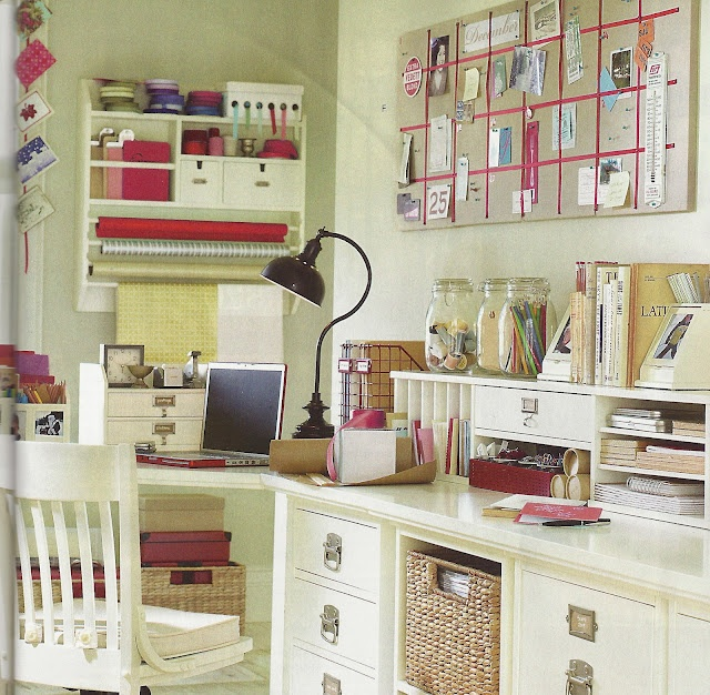Desk organization ideas work craft space pinterest - Desk organization ideas ...