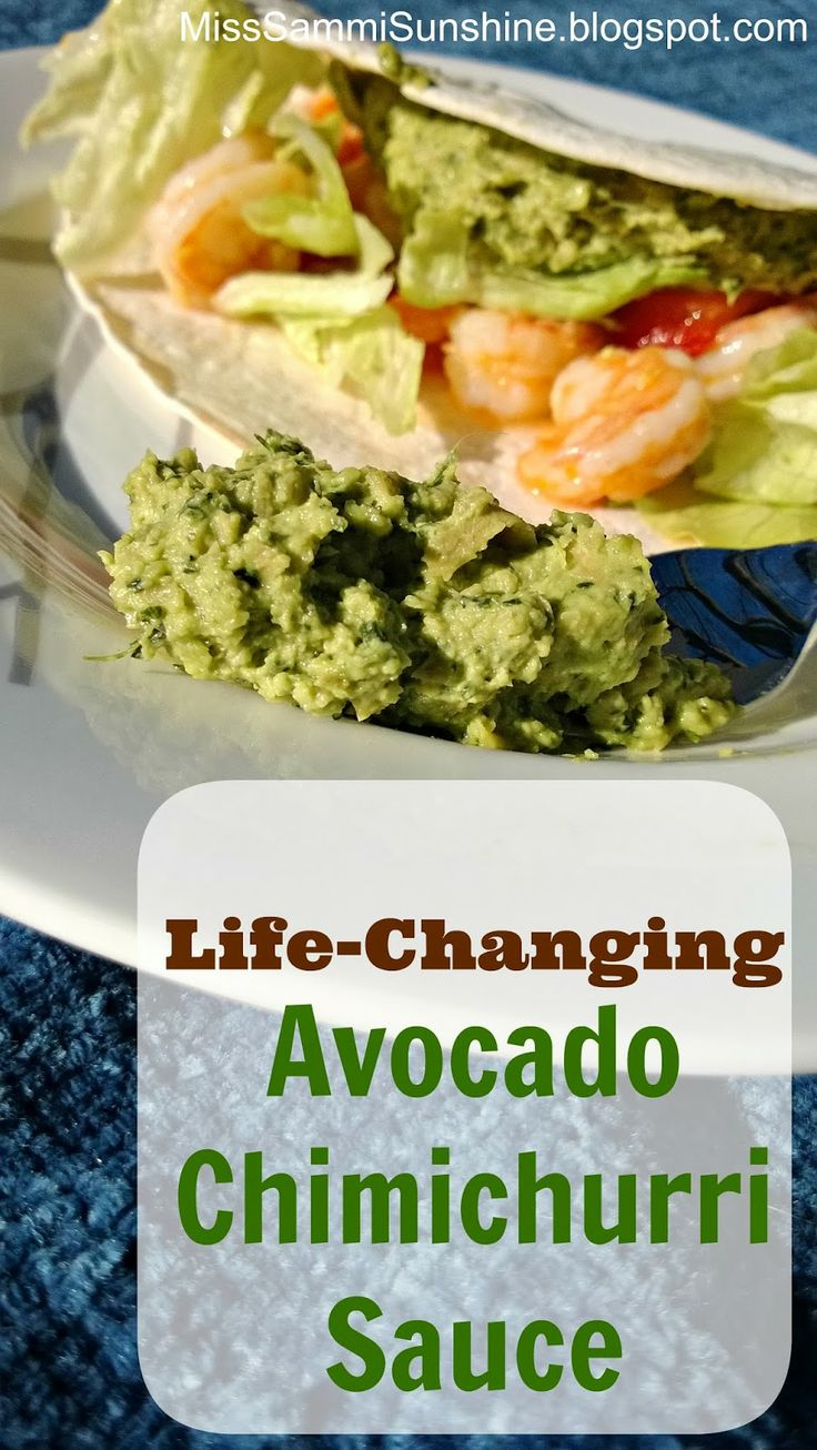 chimichurri sauce shrimp tacos with avocado chimichurri sauce recipe ...