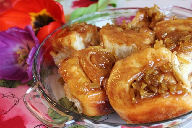 Caramel Apple Sticky Buns | Things to try! | Pinterest