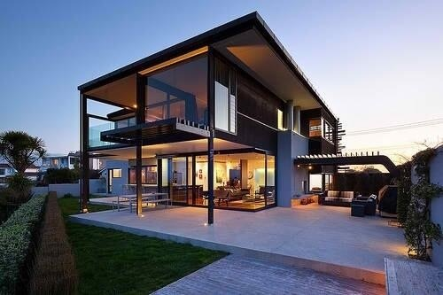 Cute Glass House Beach House For My Future House Pinterest