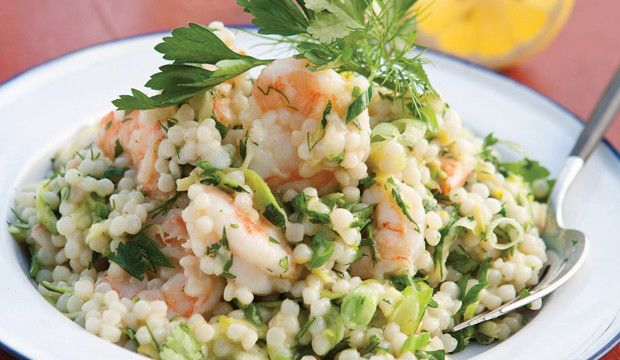 Israeli Couscous with Shrimp and Zucchini: Jane Coxwell, Private Chef ...