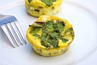 Mini swiss chard and goat cheese quiche. | Yum! | Pinterest