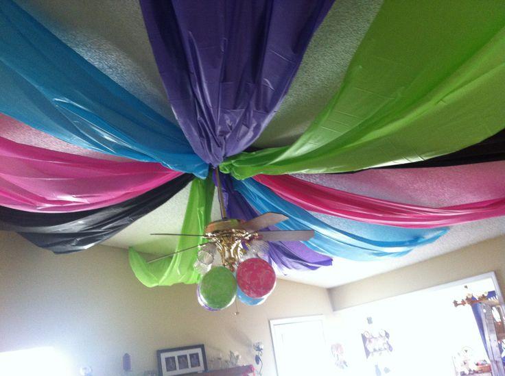 Alysha s neon party decor birthday party ideas for girls pinterest