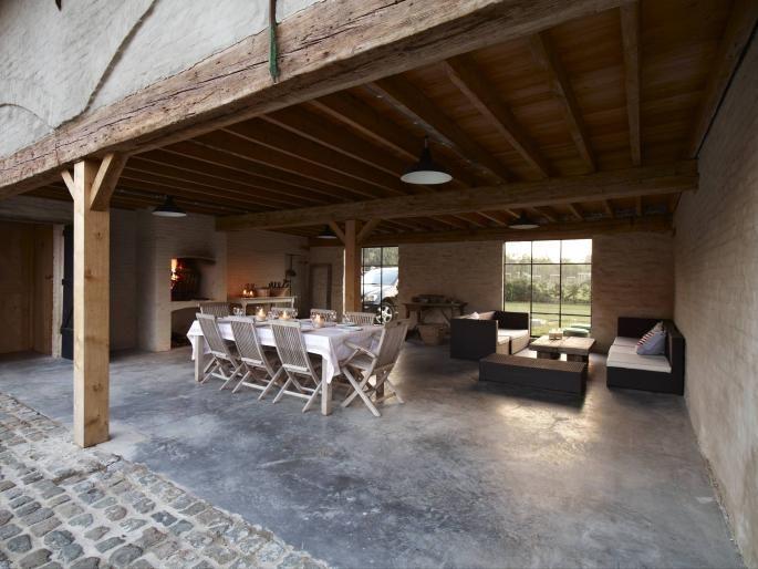 Open Keuken Afsluiten : Concierge woning – overdekt terras horse stables Pinterest