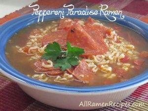 Pepperoni Pizza Ramen Recipe so many ramen recipes!