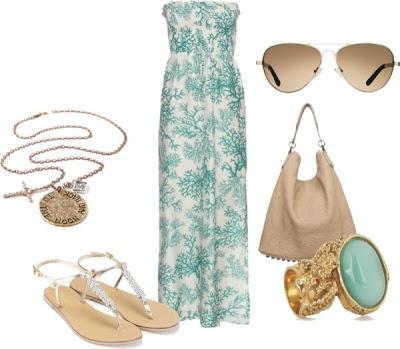 LOLO Moda: Springy Maxi Dresses 2013