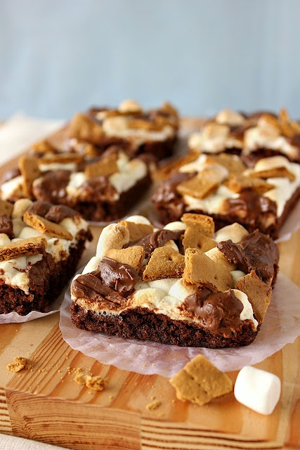 mores brownies | Sweets | Pinterest