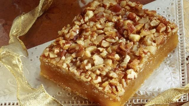 Pecan Pie Surprise Bars | Recipes to try | Pinterest