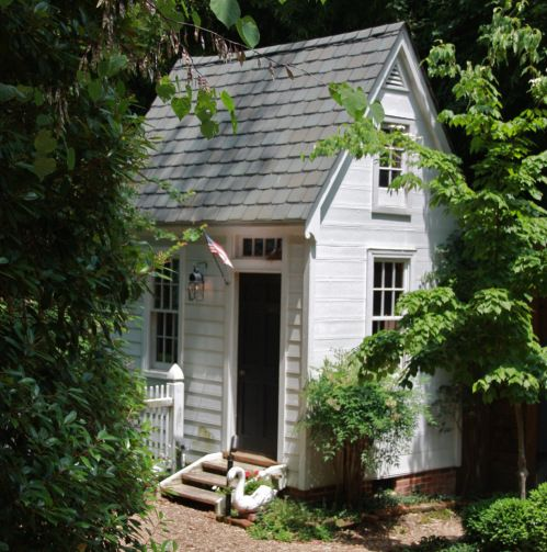 Custom Backyard Sheds : custom colonial garden shed ~ adorable  Potting Sheds  Pinterest