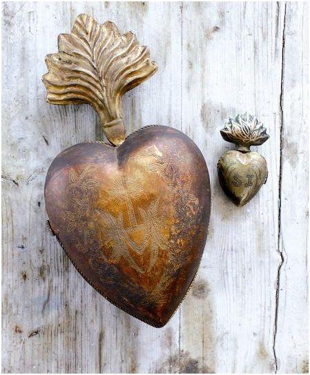 Antique heart.