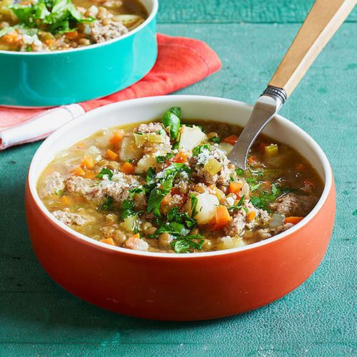 Quick Homemade Sausage & Lentil Soup | Recipe