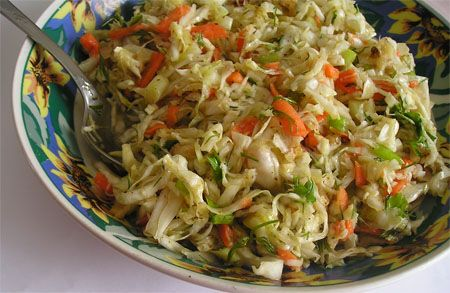 Spicy Cilantro-Peanut Slaw | recipes and meal planning | Pinterest