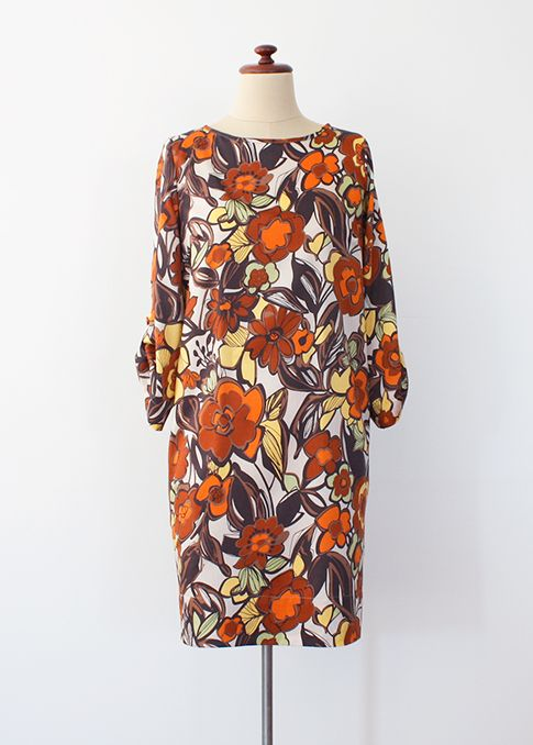 shift dress, pattern runway