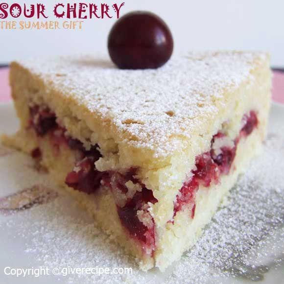 Sour Cherry Pie | giverecipe.com | #cherry #pie #dessert