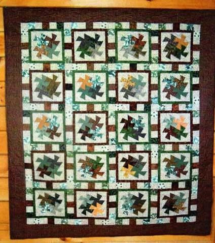 Free Bed Quilt Patterns - Page 1 - FreePatterns.com