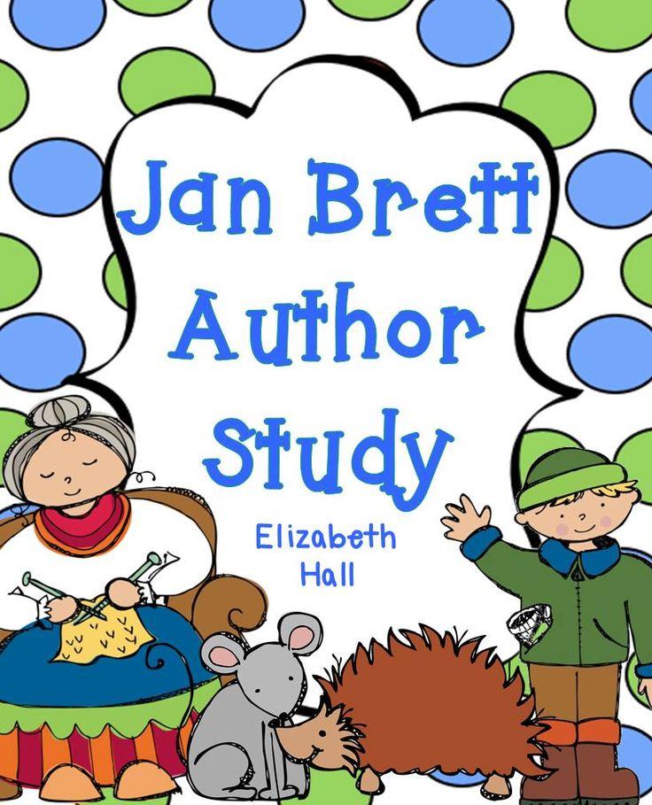 Jan Brett Author Study - mrsmyerskindergarten.blogspot.com
