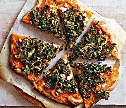Sweet Potato And Kale Pizza - Hot Girls Wallpaper