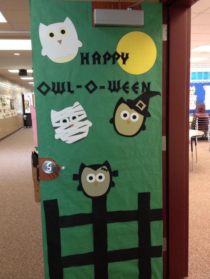 Halloween school door decorations - Halloween Door Decoration Classroom Decor Pinterest