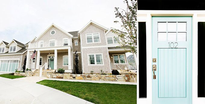 Exterior house colors.