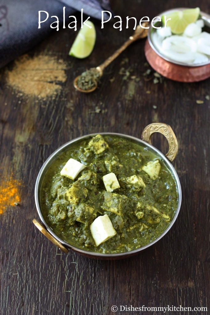 ... - INDIAN CHEESE SIMMERED IN AROMATIC SPINACH SAUCE(VERSION II
