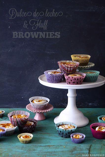 Dulce de leche Brownies | Eats and Drinks | Pinterest