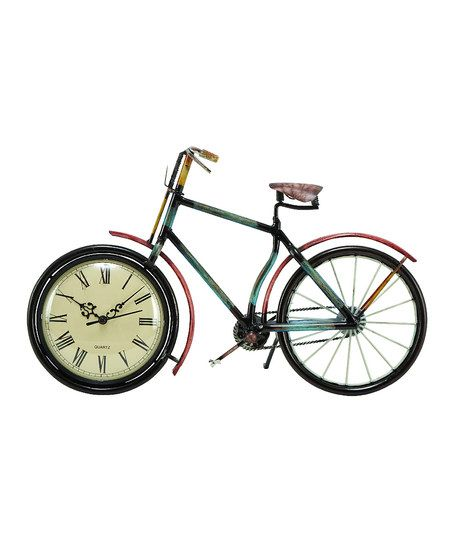 Bicycle standing clock home decor pinterest for 70 bike decoration