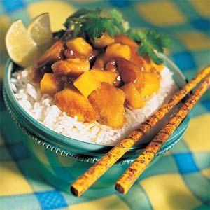Mango Chutney Chicken Recipe; vezi și http://www.food.com/recipe ...