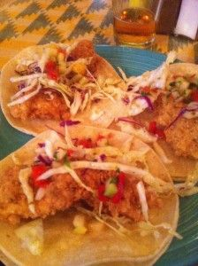 Blackened Lemon Pepper fried catfish tacos with tequila lime coleslaw ...