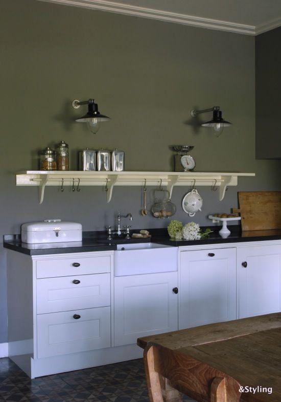 industriele Keuken  Kitchens  Pinterest