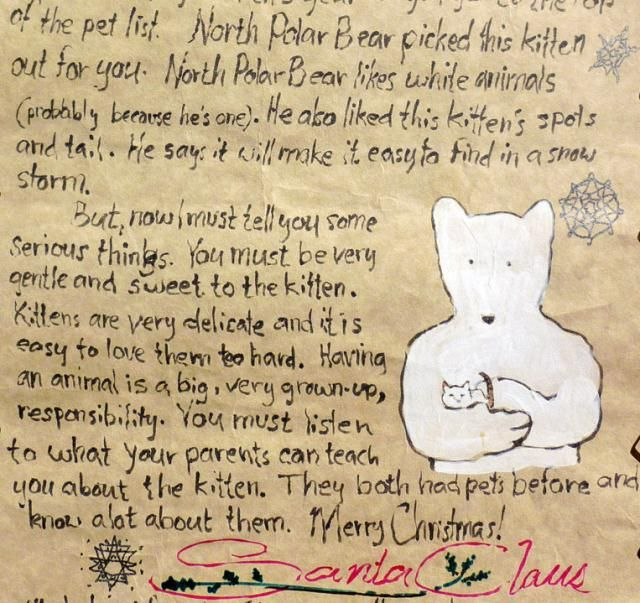 ... Christmas-JRR Tolkien's actual letters to his kids as Santa Claus