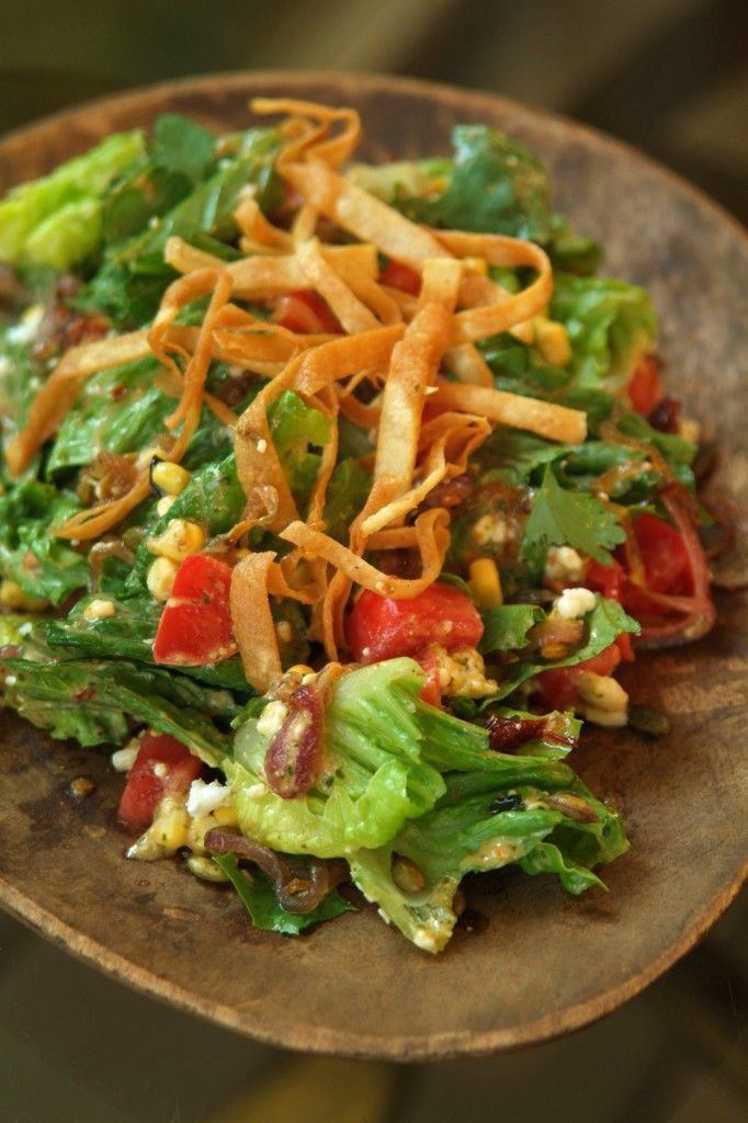 Southwestern Salad Recipe — Dishmaps