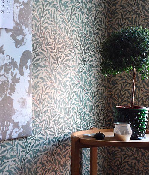 william morris pilblad tapet home decor pinterest. Black Bedroom Furniture Sets. Home Design Ideas