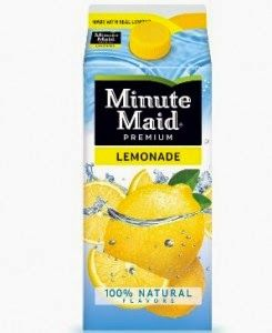 Minute Maid Lemonade $1 at Walmart