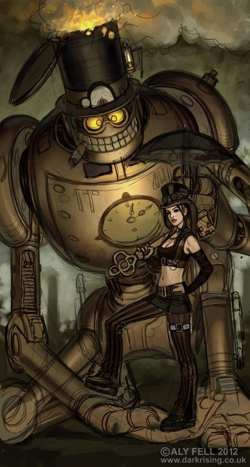 steam punk anime steampunk - photo #29